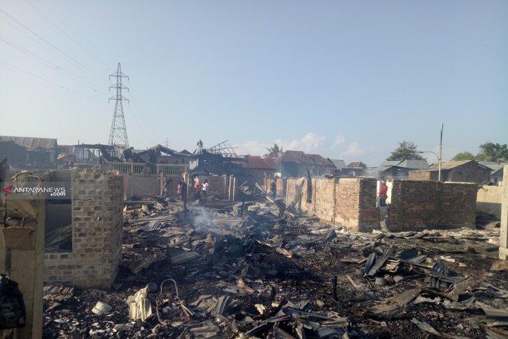 106 rumah di Palembang hangus terbakar
