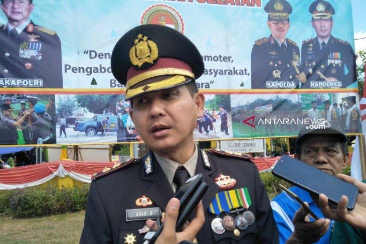 Kapolres: Penyidikan empat kapal Pukat Harimau dilimpahkan ke DKP