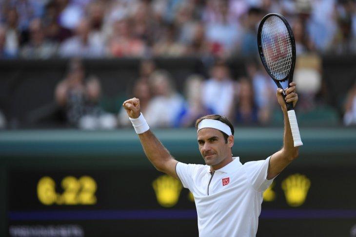 Roger Federer cetak kemenangan Wimbledon ke-100, selanjutnya hadapi Nadal