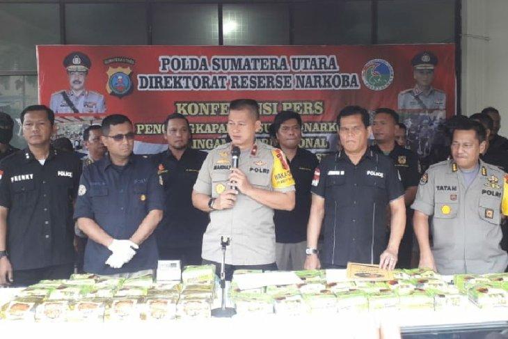 N Sumatra police foil trade in crystal meth