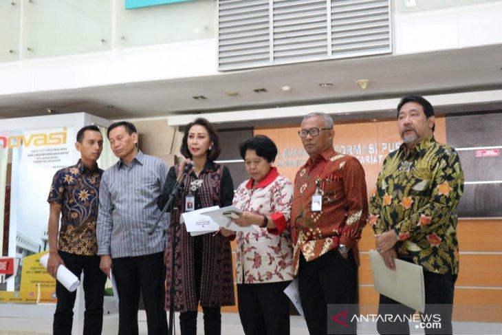 Tiga komisioner KPK lolos seleksi administrasi capim KPK 2019-2013