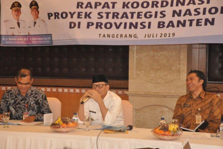 Gubernur: Progres fisik proyek strategis nasional di Banten capai 60 persen