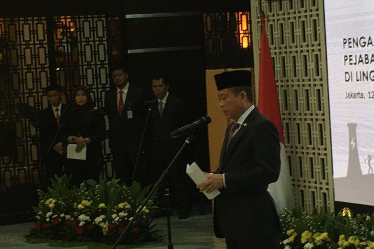 Menteri ESDM tolak lelang jabatan yang strategis