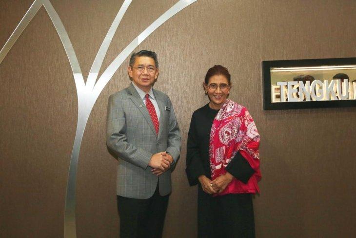 Indonesia dan Malaysia perkuat kerja sama sektor perikanan