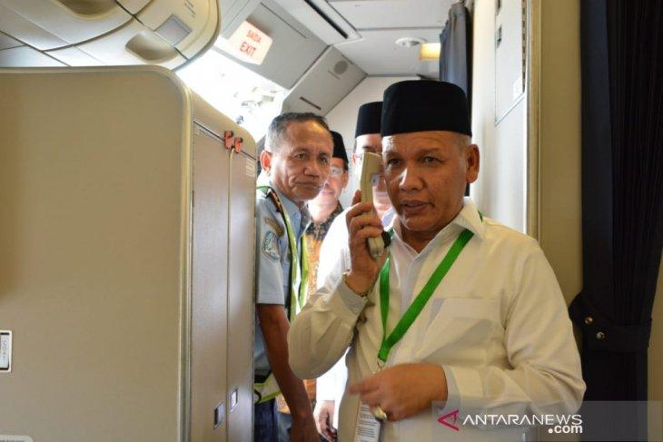 Calhaj Kabupaten Banjar bakal diterbangkan dini hari