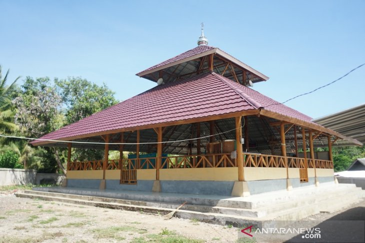 PMI erected six earthquake-resistant mosques in Lombok Island