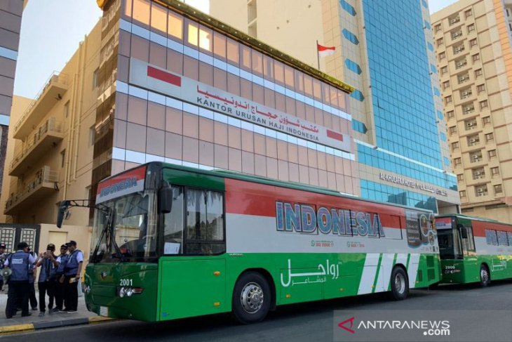 ITPC brands Hajj pilgrim buses to promote Indonesia's export products
