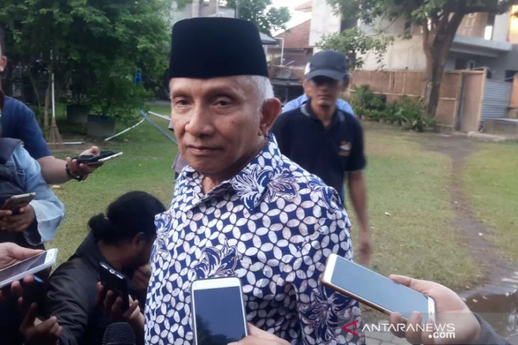 Amien Rais belum komentari pertemuan Prabowo-Jokowi