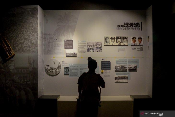 Museum gedung sate menyiapkan pembayaran tiket nontunai