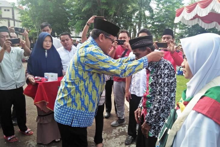 Pj Sekda Sanggau lepas 116 jamaah calon haji