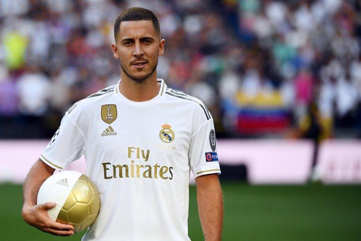 TERKUAK, teka-teki nomor punggung Hazard di Real Madrid
