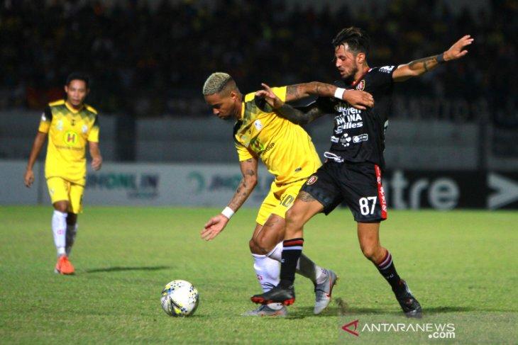 Barito Putera Kalahkan Bali United