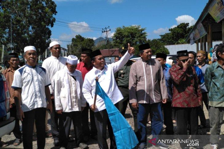 Bupati Bengkayang lepas keberangkatan 72 calon haji