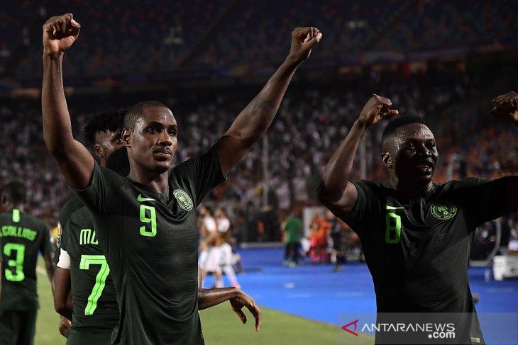 Odion Ighalo sementara pimpin daftar top skor Piala Afrika 2019