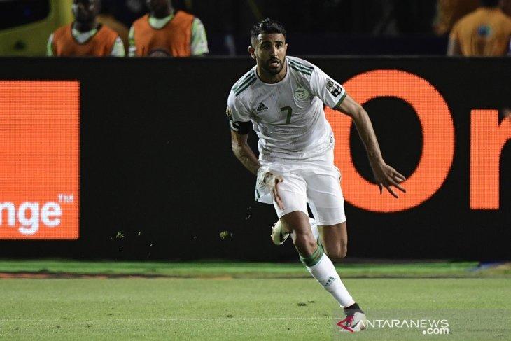 Mahrez antar Aljazair ke final tantang Senegal di Piala Afrika