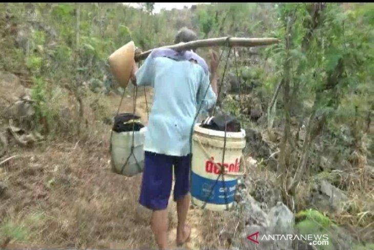 127,977 Gunung Kidul inhabitants affected by drought