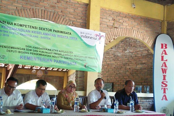 Balawista dan Kemenpar  Banten uji kompetensi pemandu keselamatan