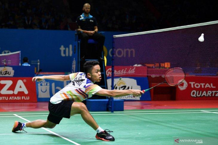 Ginting tak ingin terbebani  gelar juara bertahan di China Open