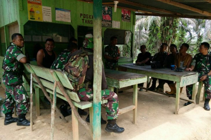 Military readies six command posts to prevent land, forest fires