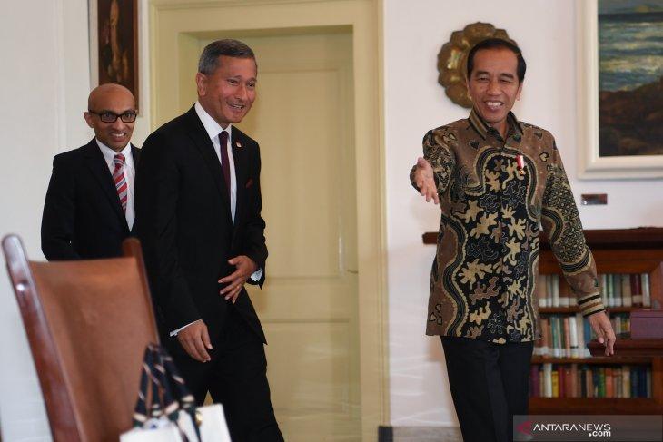 Indonesia, Singapore discuss cooperation