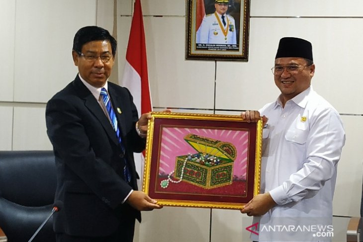 Myanmar learns about regional autonomy  in Bangka Belitung Province