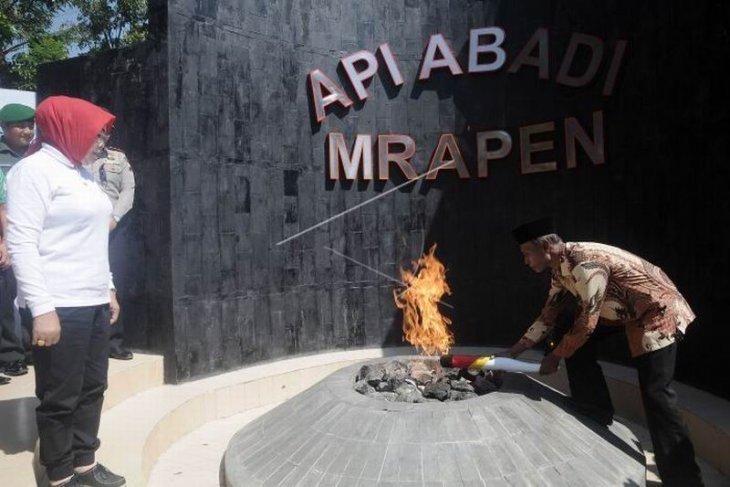 Pengambilan api abadi Mrapen