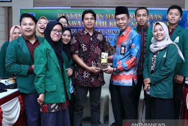Sekda sambut 15 Mahasiswa KKN di Kabupaten HSS