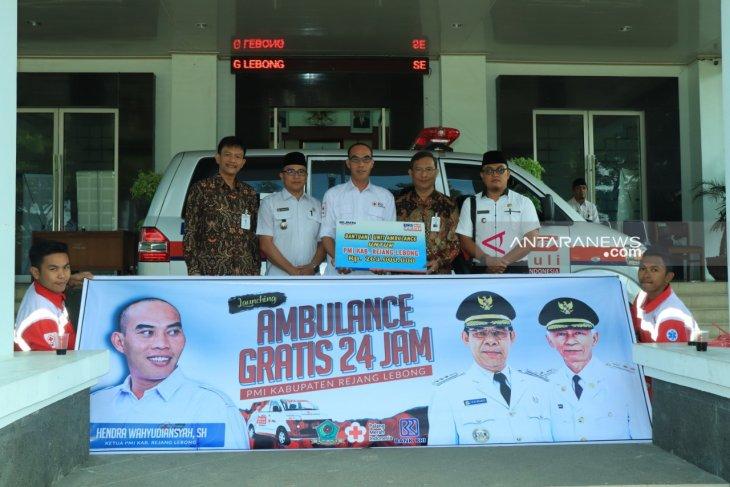 PMI Rejang Lebong siapkan mobil ambulans gratis
