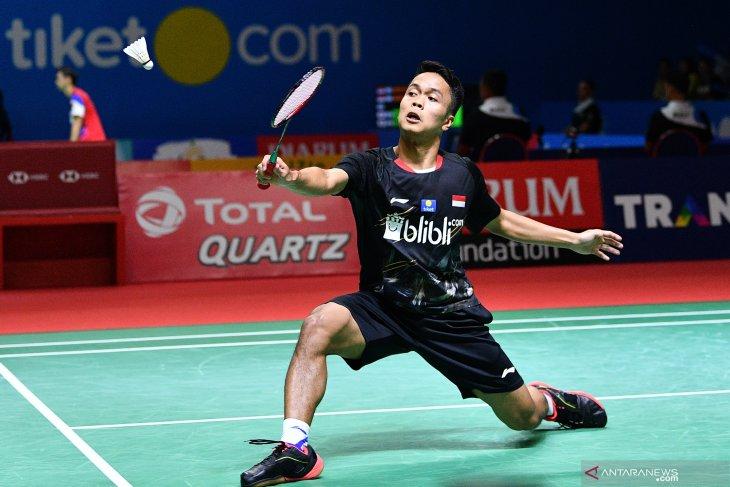 Tujuh wakil Indonesia ke babak kedua Japan Open