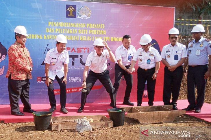 Pembangunan Kantor Imigrasi seharga Rp45 miliar di Bogor dimulai