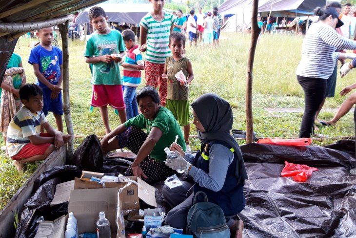 Pengungsi gempa Halmahera capai 54.789 jiwa