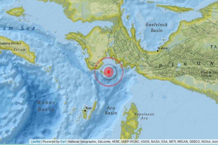 Gempa 4,3 SR guncang kabupaten Kaimana Papua Barat