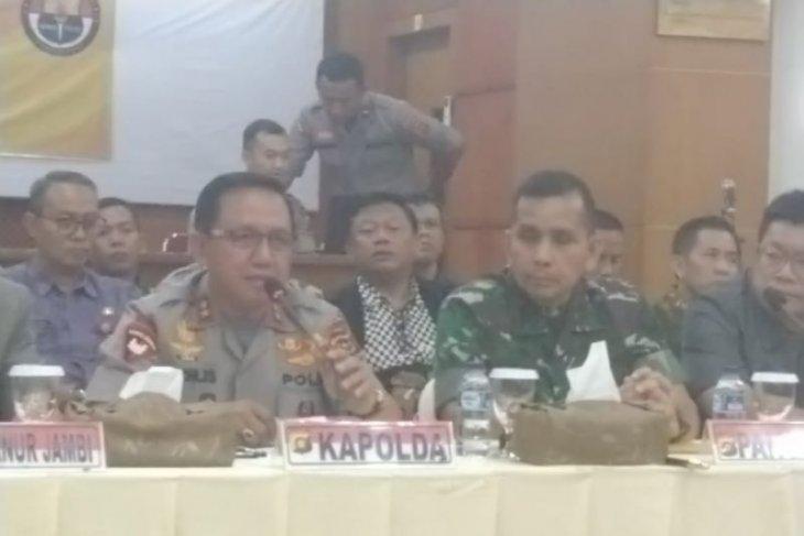 Pangdam II Sriwijaya sesalkan tindakan anarkis SMB terhadap Satgas Karhutla