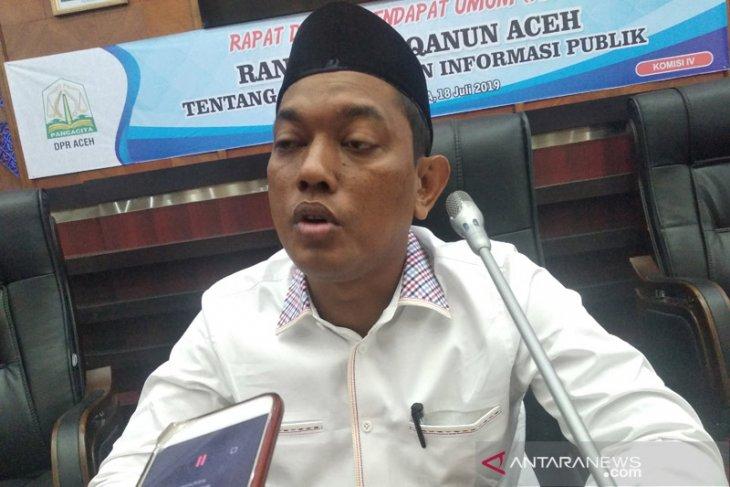 Parlementaria - DPRA targetkan pembahasan raqan informasi publik tuntas September  2019