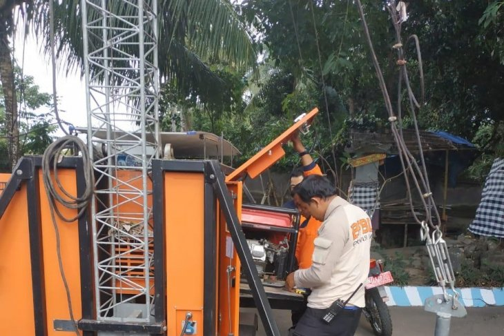 BNPB hibahkan sirene Gunung Agung untuk Bali