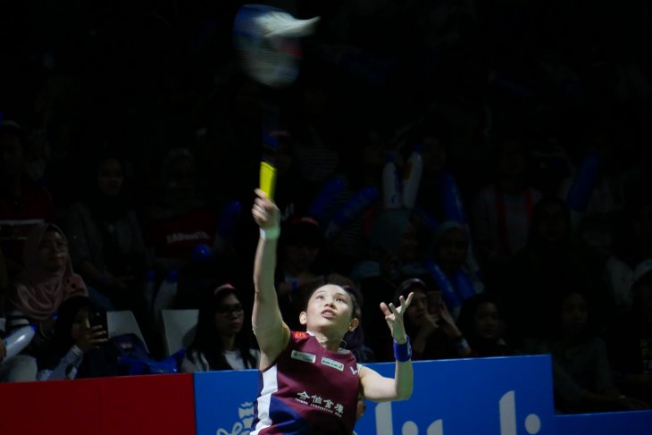 Tai Tzu Ying melaju ke semi final Indonesia Open setelah singkirkan Intanon