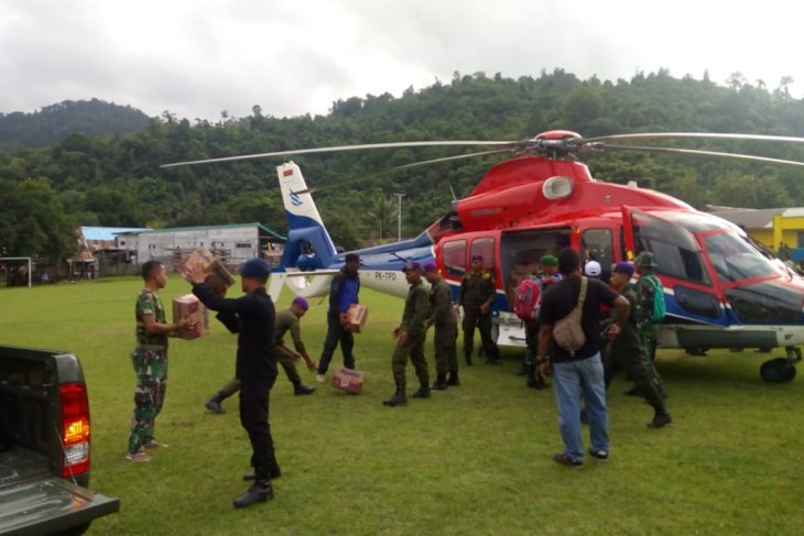 Joint team channels assistance to South Halmahera's remote areas