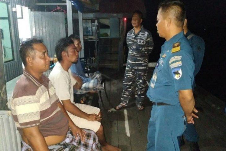 Enam orang nahkoda KLM Seruyan Raya yang tenggelam dievakuasi ke Sampit