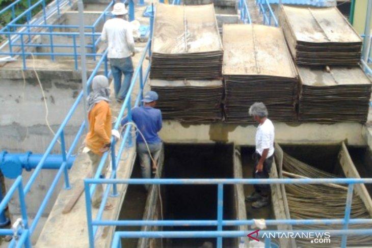 PDAM Samarinda  lakukan pengurasan bak reservoir