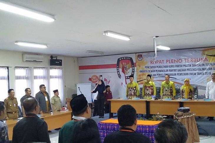 KPU Kalsel tunda penetapan hasil Pemilu 2019