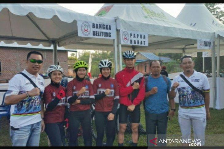 Atlet sepeda Babel sumbang dua tiket menuju PON ke-XX Papua