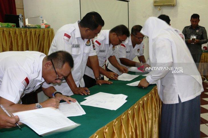 KPU Sibolga umumkan 20 nama calon terpilih anggota DPRD Sibolga