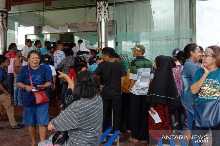 Calon penumpang kapal PT.Pelni Cabang Ambon meningkat