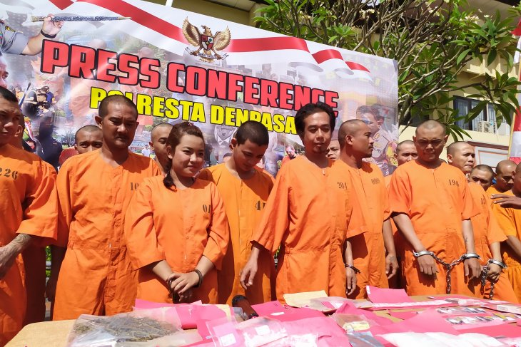 Selama Juli, Bali tangkap 29 kurir dan pemakai narkoba