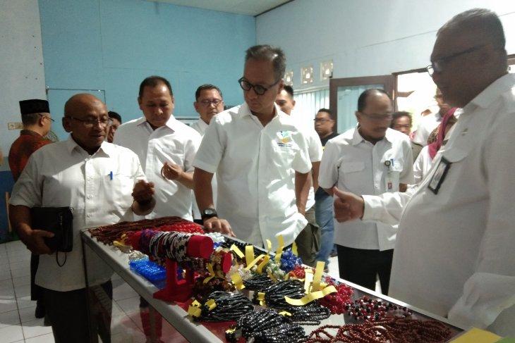 Mensos kunjungi Balai RSPDM Budi Luhur Banjarbaru