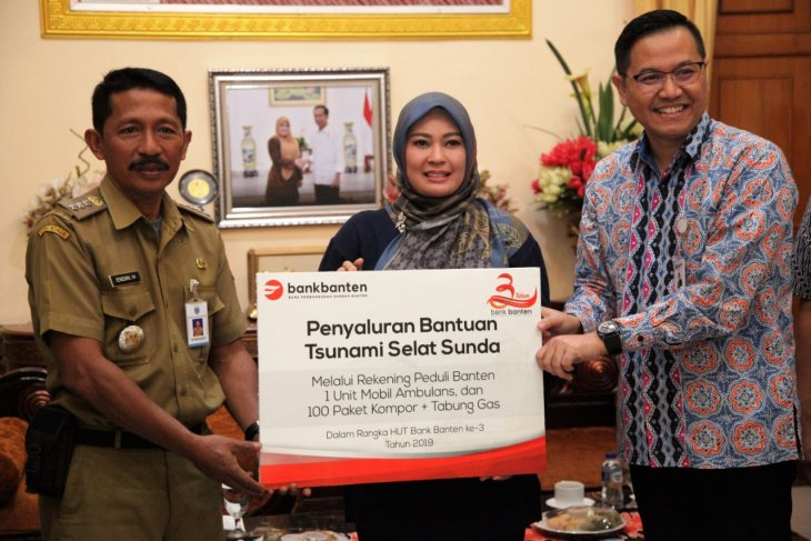 Bank Banten bantu ambulance dan kompor gas  bagi korban tsunami