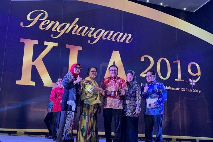 Delapan Kabupaten/Kota di Kaltim raih penghargaan KLA