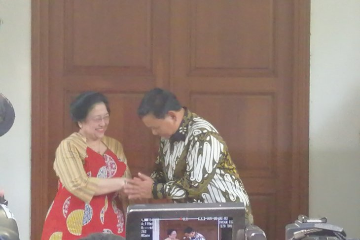 Prabowo, Megawati share common commitment to defend Indonesia