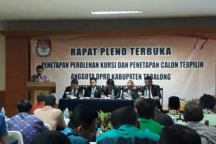 Rapat pleno KPU diwarnai aksi protes