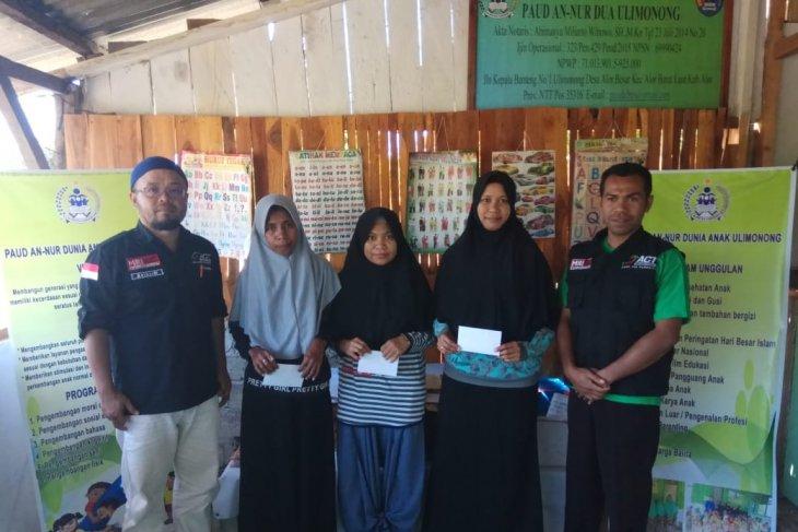 ACT bantu guru daerah terpencil Kabupaten Alor